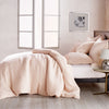 DKNY PURE Texture Bedding Duvet Collection Blush