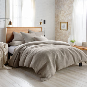 DKNY PURE Texture Bedding Duvet Collection Grey