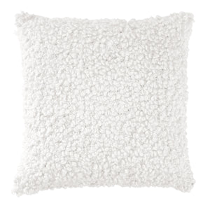 DKNY PURE Looped Decorative Pillow white