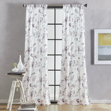 DKNY Wallflower Curtain Panel Pair