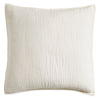 DKNY Cotton Voile Quilt Collection Natural euro sham