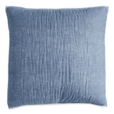 DKNY Cotton Voile Quilt Collection Chambray euro sham