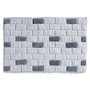DKNY Subway Tile Bath Rug