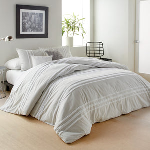 DKNY Chenille Stripe Bedding Comforter Set