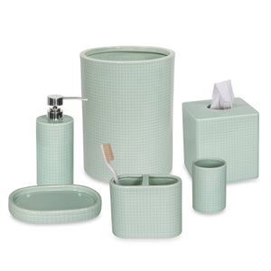 DKNY Fine Grid Bath Accessories