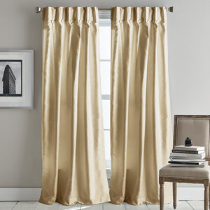 DKNY Plaza Inverted Pleat Curtain Panel Pair