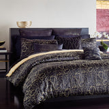 Donna Karan Black Onyx Bedding Collection Euro Sham
