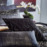 Donna Karan Black Onyx Bedding Collection 20 x 20 Decorative Pillow