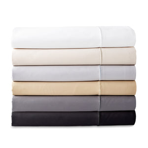 Donna Karan Silk Indulgence Sheet Collection Black Ivory White Gold Grey Platinum