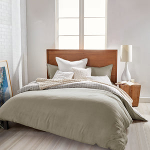 DKNY PURE Voile Bedding Collection Taupe