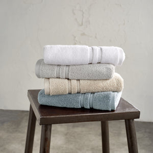 DKNY Ludlow Towels WHITE