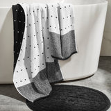 DKNY Triangle Stripe Towels
