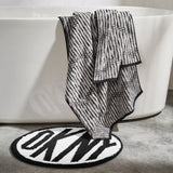 DKNY Dot Chevron Towels