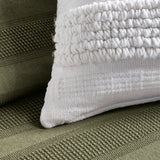 DKNY Textured Stripe Decorative Pillow