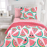 Dream Factory Watermelon Jam Bed in a Bag Comforter Set