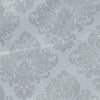 Damask Roman Window Shade Silver