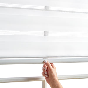 Panama White Day and Night Window Shade
