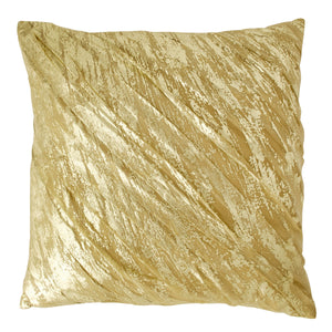 Donna Karan Gilded Collection Draped Decorative Pillow