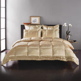 Donna Karan Silk Quilt Collection Gold