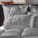 Donna Karan Silk Quilt Collection Charcoal