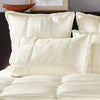 Donna Karan Silk Quilt Collection Ivory