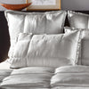Donna Karan Silk Quilt Collection Silver