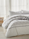 DKNY PURE Woven Stripe Bedding Collection