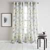 DKNY Modern Bloom Window Curtain Panel Yellow