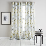 DKNY Modern Bloom Curtain Panel