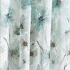 DKNY Modern Bloom Window Curtain Panel Blue