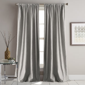 DKNY Urban Melody Window Curtain Panel Grey