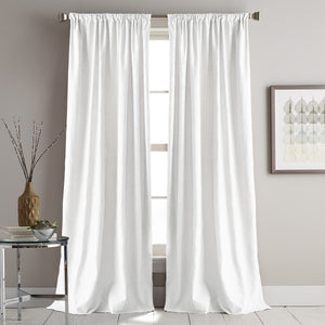 DKNY Urban Melody Window Curtain Panel Ivory