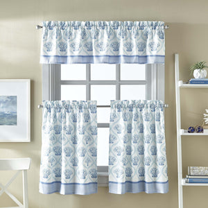 Curtainworks St. Lucia Tier & Valance Set