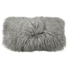 Donna Karan Collection Flokati Decorative Pillow Grey