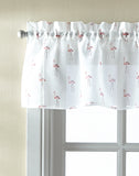 Curtainworks Flamingo Tier & Valance Set