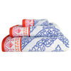 John Robshaw Mitta Periwinkle Towel Collection