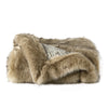 Michael Aram Faux Fur Moire Throw