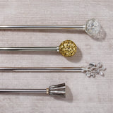 Michael Aram Palm Rod and Finial Set