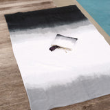 Michael Aram Dip Dye Ombre Beach Towel Black