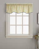Curtainworks Morocco Scallop Valance Gold