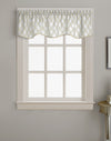 Curtainworks Morocco Scallop Valance Oyster
