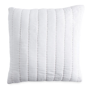 DKNY PURE Quilted Voile Decorative Pillow