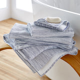 Uchino Zero Twist Stripe Towel
