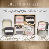 Cheers Candle Gift Set