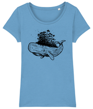 Load image into Gallery viewer, Forest Whale - Women's T-Shirt
