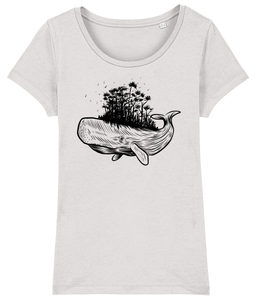 Forest Whale - Women's T-Shirt