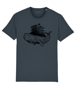 Forest Whale - Unisex T-Shirt