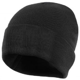Stoke Bruerne Black knitted Hat