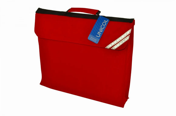 Colville Primary Red Expandable Book Bag with Logo