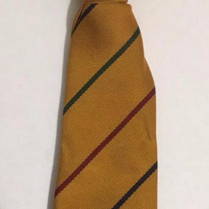 "Forest Federation 45"" Tie Gold with Stripes"